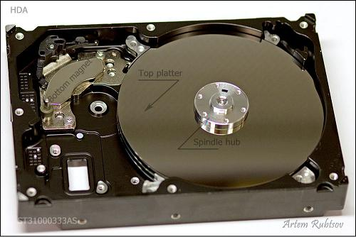 电脑硬盘结构分析